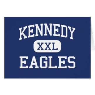 Kennedy Eagles Middle Aiken South Carolina Greeting Card