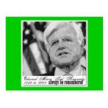 'Kennedy' Edward  Commemorative Post Card