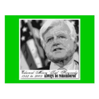'Kennedy' Edward  Commemorative Postcard