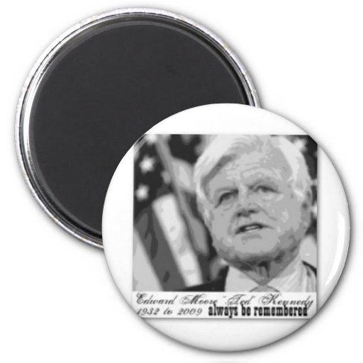 """""""Kennedy"""" Edward conmemorativo Imán Redondo 5 Cm"""