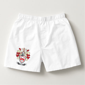 Kennedy Family Crest Coat of Arms Boxers