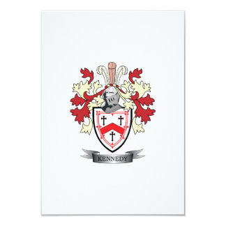 Kennedy Family Crest Coat of Arms Card