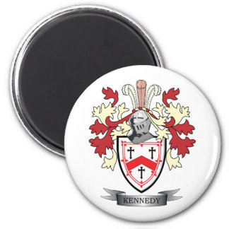 Kennedy Family Crest Coat of Arms Magnet
