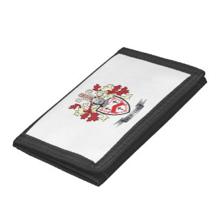 Kennedy Family Crest Coat of Arms Tri-fold Wallets