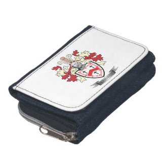Kennedy Family Crest Coat of Arms Wallet