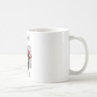 KENNEDY FAMILY CREST -  KENNEDY COAT OF ARMS CLASSIC WHITE COFFEE MUG
