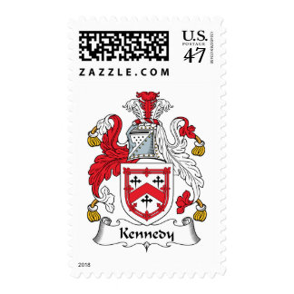 Kennedy Family Crest Postage