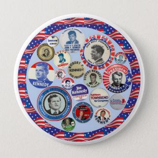 Kennedy Family Dynasty Button