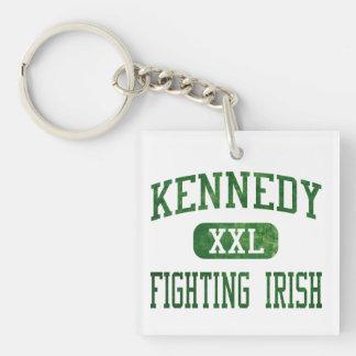 Kennedy Fighting Irish Athletics Keychain