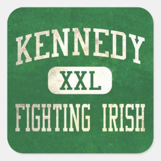 Kennedy Fighting Irish Athletics Square Sticker