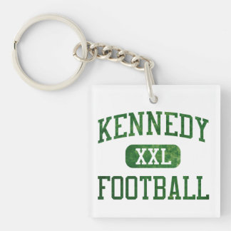 Kennedy Fighting Irish Football Keychain