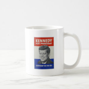 Kennedy For President 1960 Campaign Mug 15oz