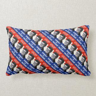 Kennedy for President Lumbar Pillow
