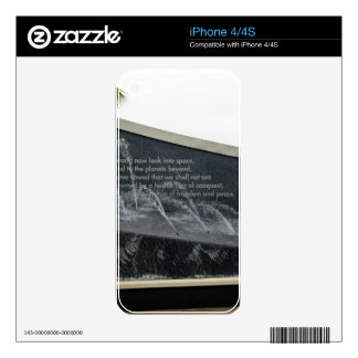 Kennedy Fountain iPhone 4 Skins