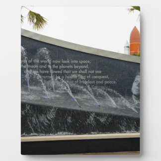 Kennedy Fountain Plaque