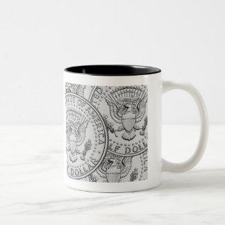 Kennedy Half Reverse Two-Tone Coffee Mug