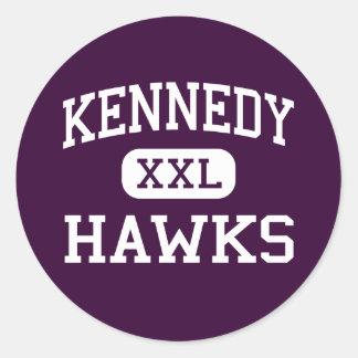 Kennedy - Hawks - High School - Plainview New York Sticker
