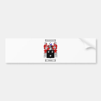 Kennedy (Irish) Coat of Arms Bumper Sticker