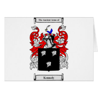 Kennedy (Irish) Coat of Arms Card