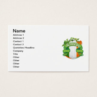 Kennedy Irish Shield Business Card