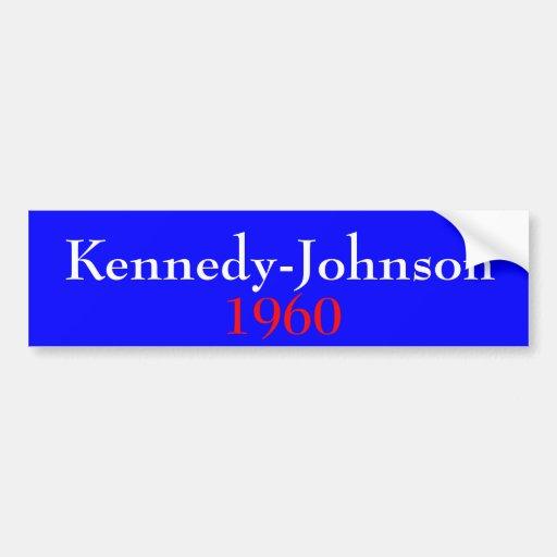 Kennedy-Johnson 1960 Bumper Stickers
