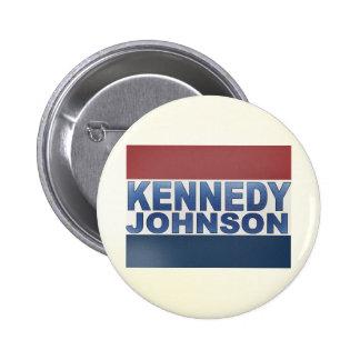 Kennedy Johnson Campaign 2 Inch Round Button