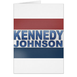 Kennedy Johnson Campaign Cards