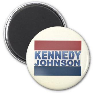 Kennedy Johnson Campaign Fridge Magnets