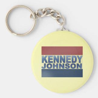 Kennedy Johnson Campaign Keychain