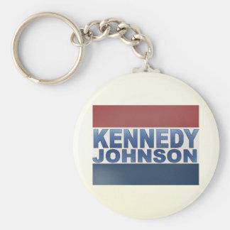 Kennedy Johnson Campaign Keychains