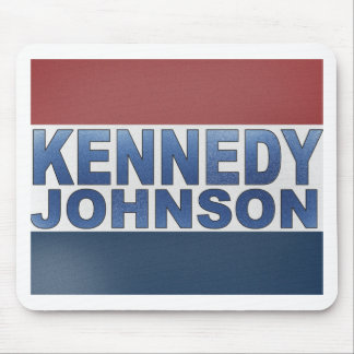 Kennedy Johnson Campaign Mouse Pads