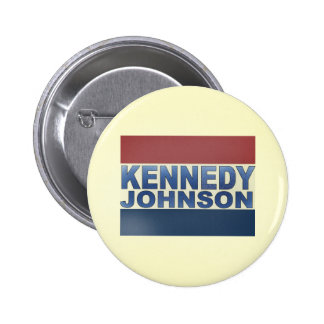 Kennedy Johnson Campaign Pins