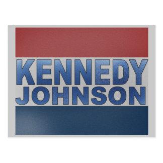 Kennedy Johnson Campaign Postcards