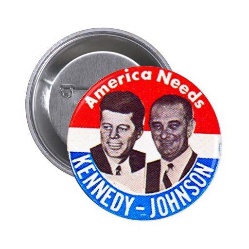 Kennedy-Johnson jugate - Button