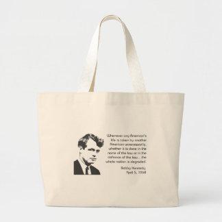 Kennedy Jumbo Tote Bag