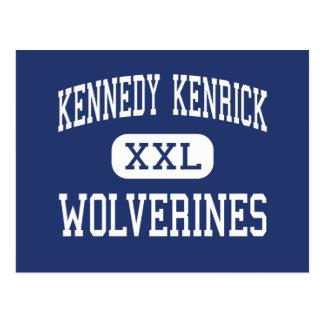 Kennedy Kenrick - Wolverines - Norristown Postcard