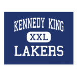 Kennedy King Lakers Middle Gary Indiana Postcard