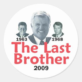 Kennedy Last Brother Sticker