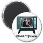 Kennedy Nixon Debate 1960 2 Inch Round Magnet