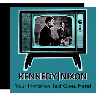 Kennedy Nixon Debate 1960 Card