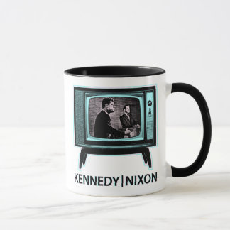Kennedy Nixon Debate 1960 Mug