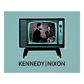 Kennedy Nixon Debate 1960 Poster