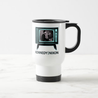 Kennedy Nixon Debate 1960 Travel Mug