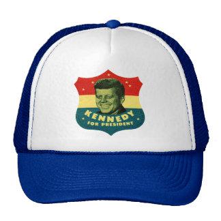Kennedy para el presidente gorros bordados