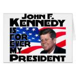 Kennedy para siempre tarjetas