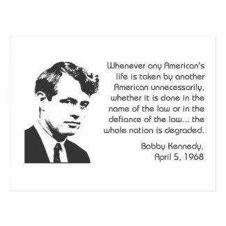 Kennedy Post Card