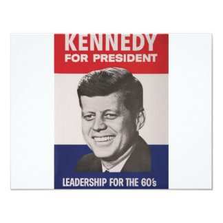 Kennedy Poster Card