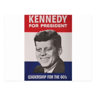 Kennedy Poster Postcard