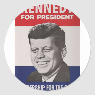Kennedy Poster Stickers