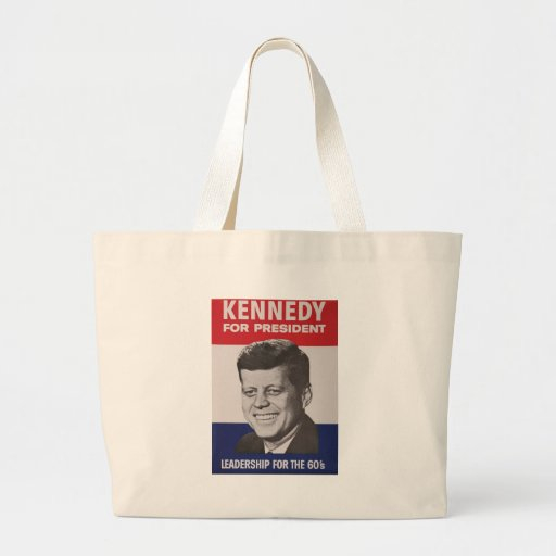 Kennedy Poster Tote Bag